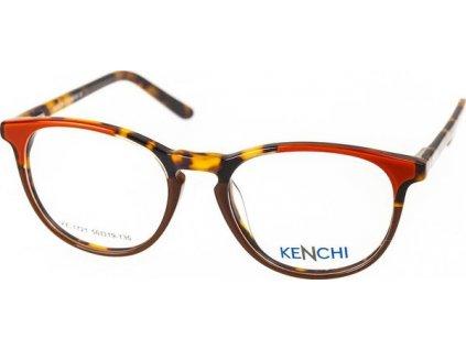 Kenchi 1721-C4 oranžová/hnědá/havana