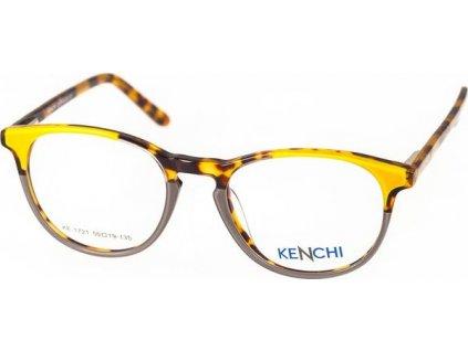 Kenchi 1721-C2 žlutá/šedá/havana