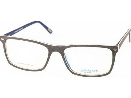 Magnetic 1811-C2 šedá/béžová/modrá