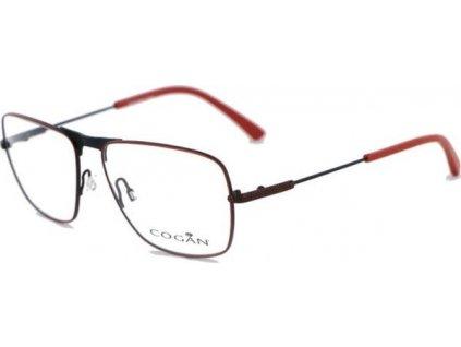 Cogan 2606-RED (hnědá/oranžová)