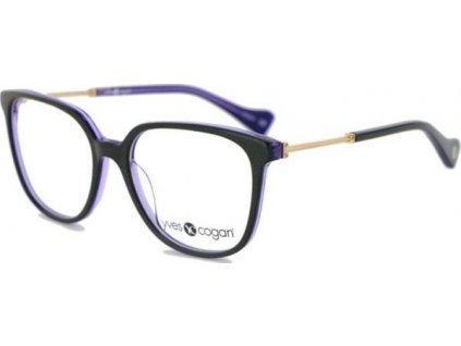 Cogan Power 0078-BLK (černá/fialová/zlatá)