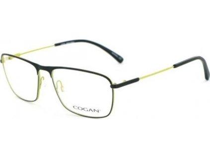 Cogan 2608-BLK (černá/žlutozelená)