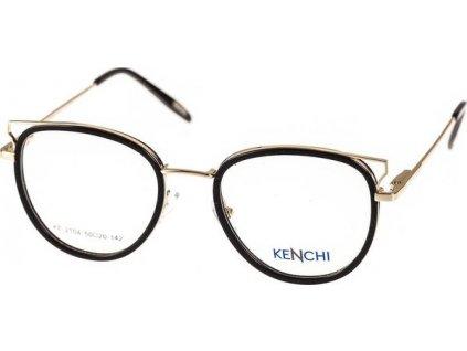 Kenchi 2104-C1 černá/zlatá