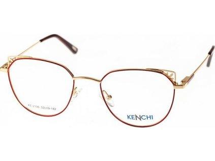 Kenchi 2106-C1 červená/zlatá