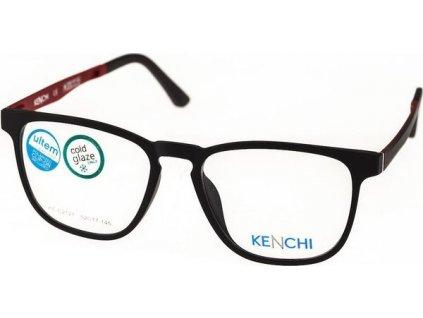 Kenchi C2121-C2 černá/tm.vínová (vč. 3ks slunečních klipů)
