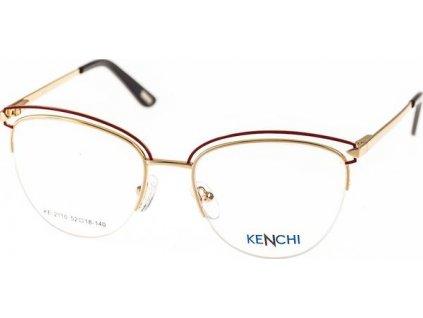 Kenchi 2110-C1 zlatá/červená