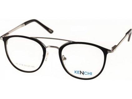 Kenchi 2114-C2 černá/stříbrná