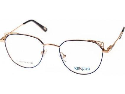 Kenchi 2106-C3 modrá/bronzová