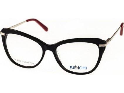Kenchi 2202-C1 černá/stříbrná/červená