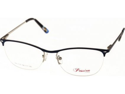 Passion 2125-C3 tm.modrá/stříbrná