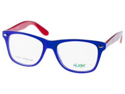 N-Joy 8011-C1 fialová/červená