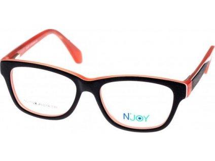 N-Joy 1128-2 černá/růžová/bílá