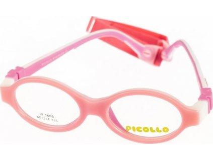 Picollo 1605-C2 růžová/bílá