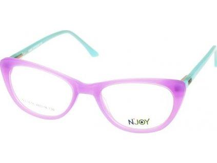 N-Joy 1616-C2 sv.fialová/sv.zelená