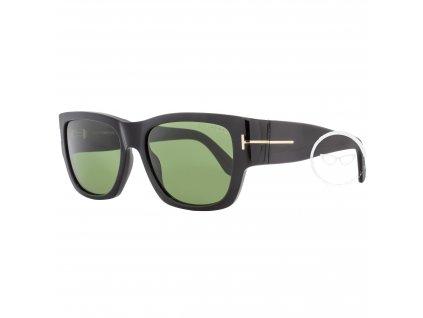 Tom Ford TF493 Stephen 01N Womens Shiny Black Gold Green Lens Sunglasses efe49f0a 431a 4871 b528 07a3f930e7bc (1)