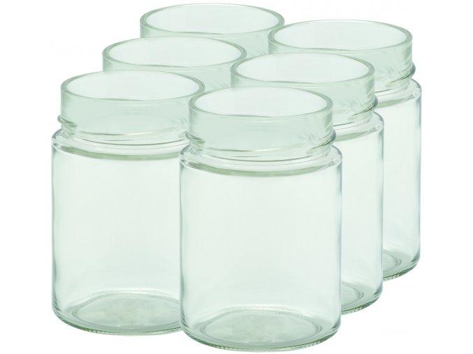 Zavařovací sklenice myRex 370 ml / 6 kusů