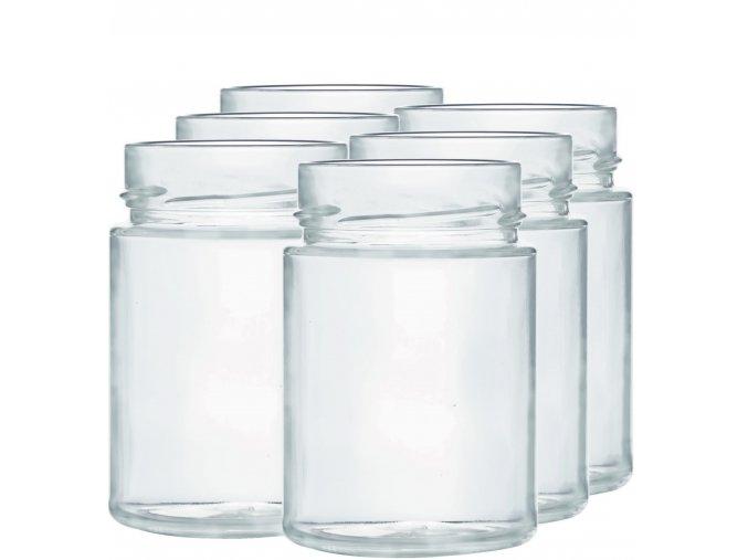 Zavařovací sklenice myRex 195 ml / 6 kusů