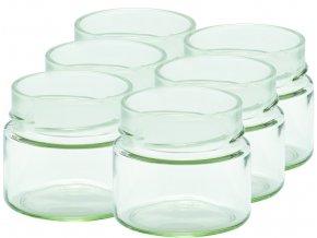 Zavařovací sklenice myRex 212 ml / 6 kusů