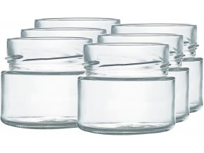 Zavařovací sklenice myRex 106 ml / 6 kusů