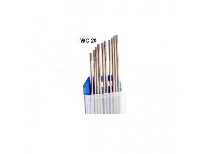 siva wolfram elektroda
