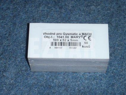 Fólia 108x51 mm Gysmatic/MACH