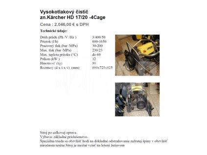 HD 17 20 4 Cage obrázok.
