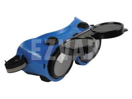 Okuliare pre zváračov -odklápacie kruhové zorníky