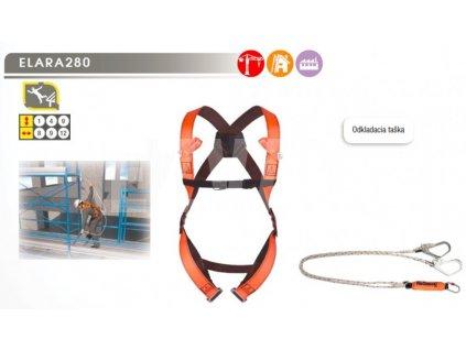 Bezpečnostný postroj ELARA 280