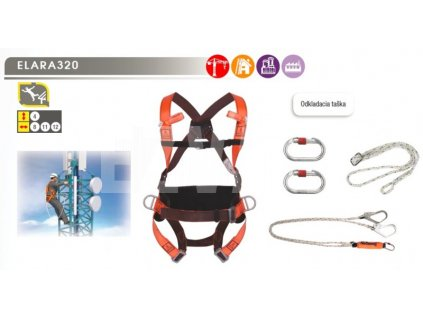 Bezpečnostný postroj ELARA 320