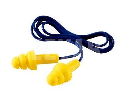 Zátkové chrániče sluchu so šnúrkou ULTRAFIT UF-01-000