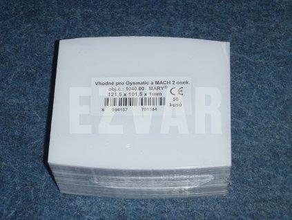 Fólia 121,5x101,5 mm Gysmatic/Mach