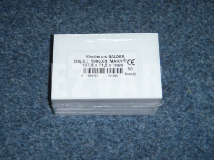 Fólia 107,5x71,5 mm BALDER
