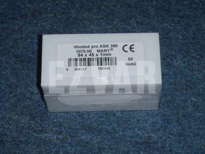 Fólia 94x45 mm ASK 300