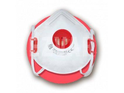 X210V FFP2 NR D respirátor s ventilčekom
