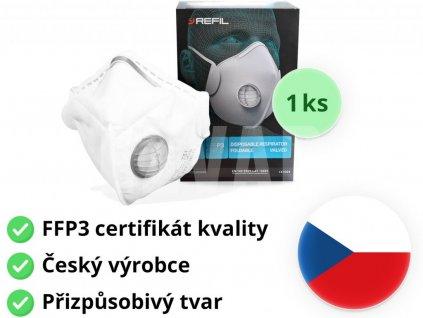 7277 2 respirator ffp3 refil standard 751 1ks mediskont