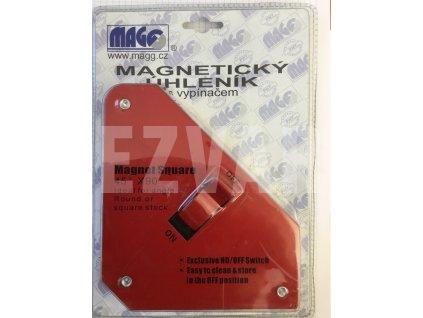 Magnetický uholník 130mm s vypínačom