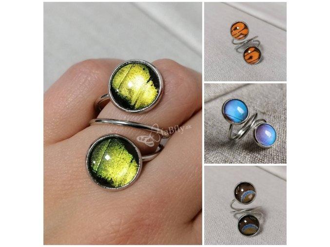 prsten morpho dvojity 2