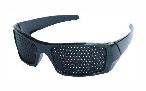 Děrované brýle Trenér očí Vision Fix