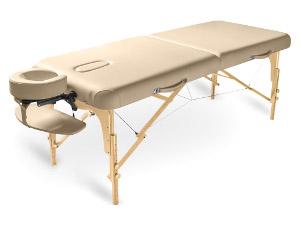Dřevěné masážní lehátka skládací