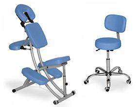 Masážní a otočné židle
