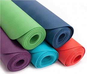 Podložky a karimatky na cvičení