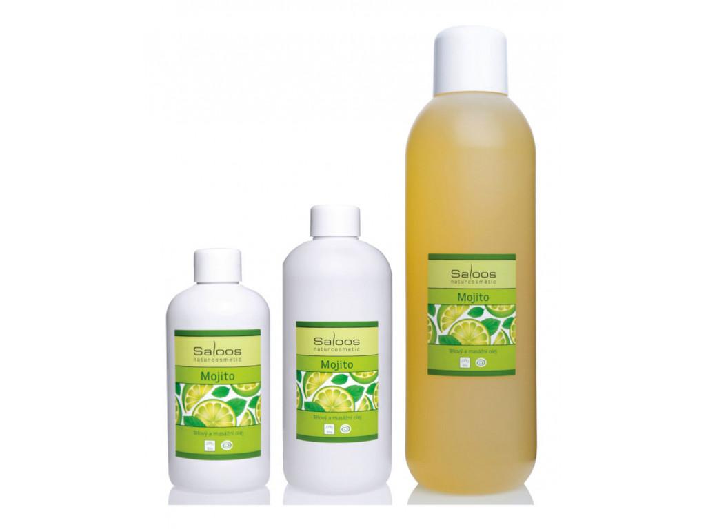 saloos bio rostlinny masazni olej Mojito