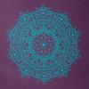 podlozka na jogu leela yogamatte mandala 60 baklazanova 2