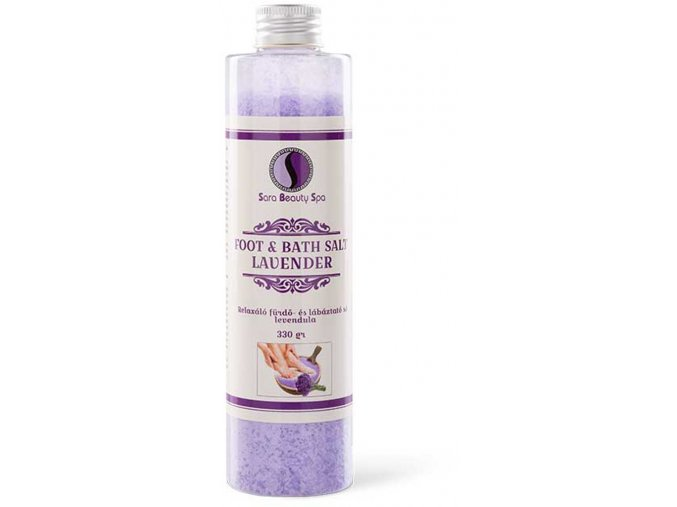 SBS198 relaxacni sul do koupele levandule sara beauty spa refreshing bath foot salt