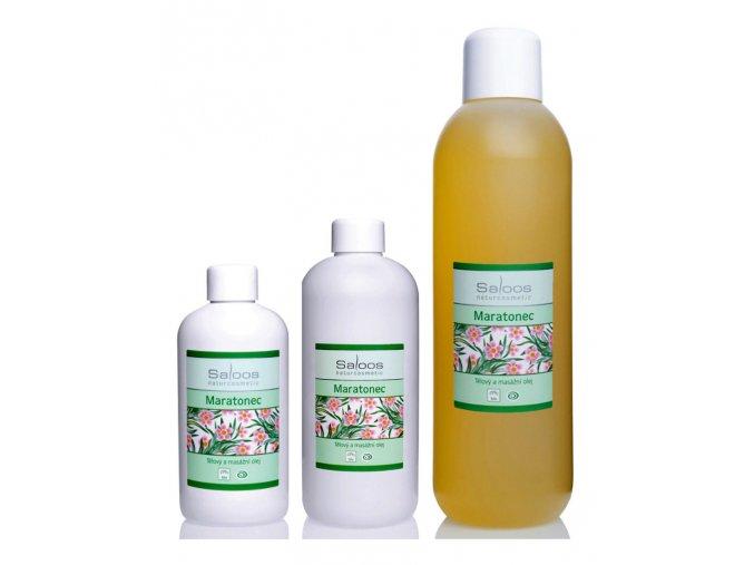 saloos bio rostlinny masazni olej Maratonec