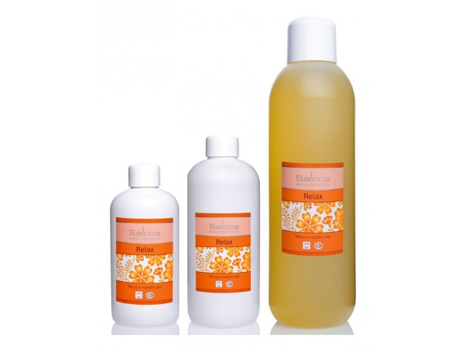 saloos bio rostlinny masazni olej Relax