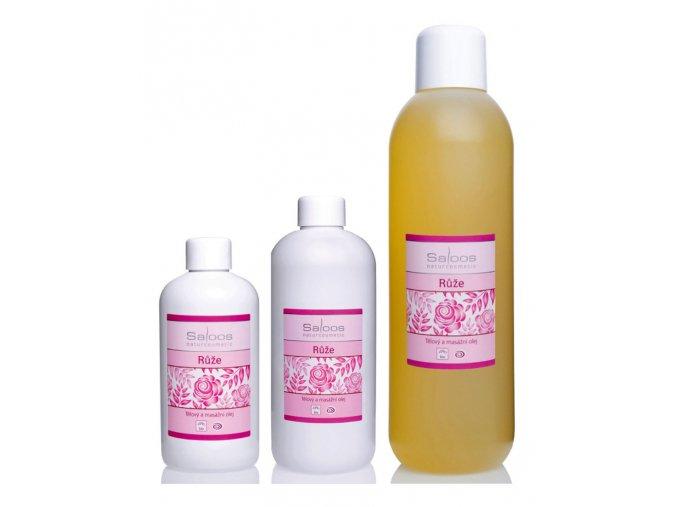 saloos bio rostlinny masazni olej Ruze