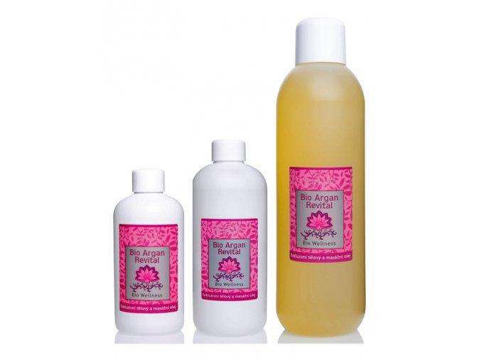 saloos bio rostlinny masazni olej Wellness Argan revital