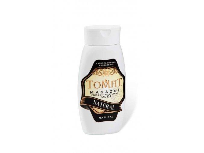 tomfit prirodni rostlinny masazni olej natural 250 ml 27 0016