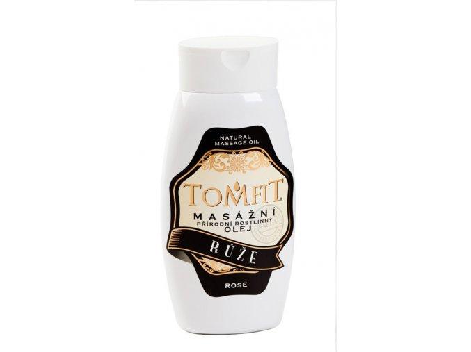 tomfit prirodni rostlinny masazni olej ruze 250 ml 27 0043
